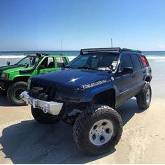 @danielthejeepguy posted on the beach Order your decals today link in bio!!! Dm pictures to get posted #FourDoorJeepMafia #FDJM #xj #jku #wk #wk2 #wj #zj #kj #lifted #jeepjk #grandcherokee #jeepcherokee #flex #offroad #AnthemOffroad #AmericanForce by fourdoorjeepmafia