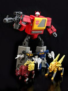 G1 Cartoon Style Blaster w/ Rewind Eject Ramhorn & Steeljaw | Flickr - Photo Sharing!