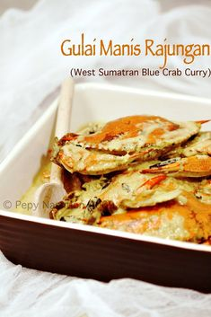 Crab-Gulai Manis Rajungan