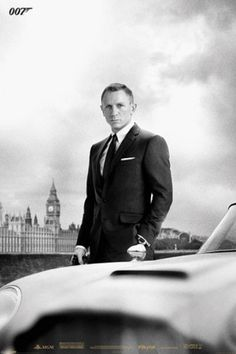 James Bond Skyfall - DB5 Poster from AllPosters.com