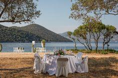 #beachweddings #reception #arch #kefalonia My Wedding Planner, Beautiful One, Our Wedding Day, Event Styling, Amazing Flowers, Fairy Lights, Gazebo, Arch, Reception