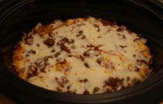 Crock Pot Lasagna {Recipe} > Life Your Way Slow Cooker Recipes, Gourmet Recipes, Crockpot Recipes, Cooking Recipes, Budget Recipes, Pasta Recipes, Yummy Recipes, Recipies, Clean Eating Snacks