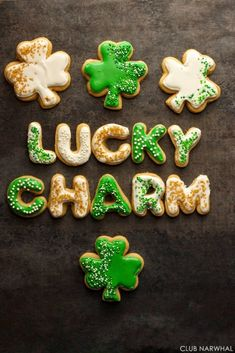 Lucky Charm Sugar Cookies