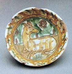 Bowl, last quarter 15th century, Vicenza.