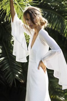 boho #beachwedding dress