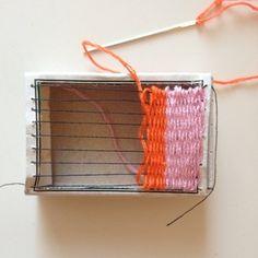 matchbox weaving.