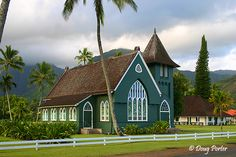 I want to get married here, Church in Hanalai Bay, Kauai, Hawaii.Prettiest place and church I have ever seen!