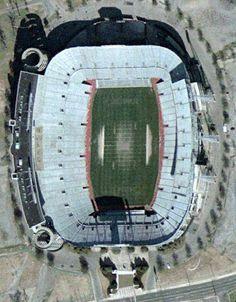 UAB University of Alabama at Birmingham Blazers football stadium - aerial of Legion Field