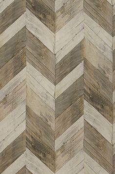 Wood Herringbone | Geometrical wallpaper | Wallpaper patterns | Wallpaper from the 70s