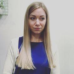 Meistarei @marta_salnaja šodien izdevās ļoti skaists matu krāsojums #balayage tehnikā. Visu nokrāsu blondie toņi šoruden īpaši aktuāli!