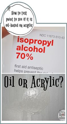 Is it Oil or Acrylic? - The Bold Abode