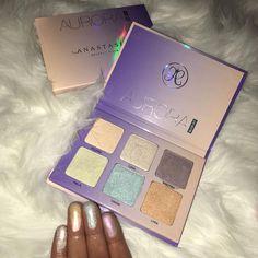 #AuroraGlowKit @mishelsbeauty #ABHGlow #AnastasiaBeverlyHills
