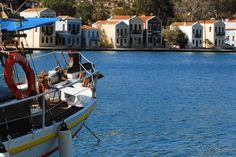The Perfect Crusing Harbour: #Kasterlorizo Island, #Greece (Also #Castelorizo or #Megisti) the easternmost #Greek Island Source: Official Tourism Site http://www.megisti.gr