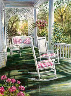 Spring Daydream - Open Edition Art Print - William Mangum Fine Art