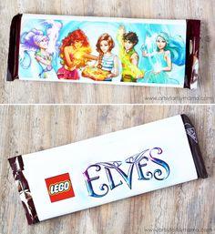 Free Printable Lego Elves Candy Bar Wrapper at artsyfartsymama.com #giftidea #LEGO free printable