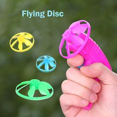 Purchase Kids Flying Saucers Disc Flywheels Sporting Toys for Children Outdoor from Shenzhen Wanweile Network Tech on OpenSky. Share and compare all Toys. Toys For Tots, All Toys, Kids Toys, Flying Disc, Flying Saucer, Sports Toys, Kid Party Favors, Gifts For Kids, Children