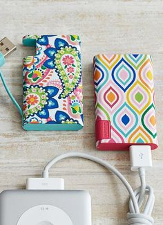 portable power – no electrical outlet required – to charge your phone or MP3 player on the go!