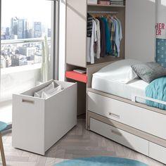 House Furniture Design, Kids Bedroom Furniture, Space Saving Furniture, Home Decor Bedroom, Small Room Design, Kids Room Design, Home Room Design, Living Room Partition Design, Room Partition Designs