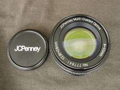 JC Penny Multi Coated Optics 28mm 1:2.8f Camera Lens  #JCPenny