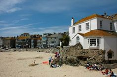 St Ives Harbour Beach - Is it a beach? Is it a harbour....