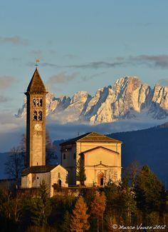 Chiesa Castello di Fiemme by Marco Vanzo, via 500px