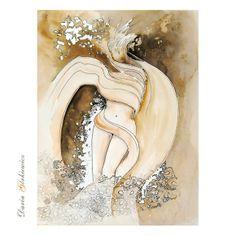 Boski wiatr Waves, Artwork, Work Of Art, Auguste Rodin Artwork, Artworks, Ocean Waves, Illustrators, Beach Waves, Wave