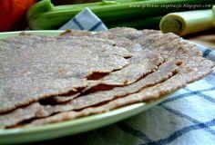 Qchenne-Inspiracje! Odchudzanie, dietoterapia, leczenie dietą: Przepis na domową, pełnoziarnistą tortillę. Zero konserwantów i sztucznych dodatków. 100 % natury. Tylko 4 składniki