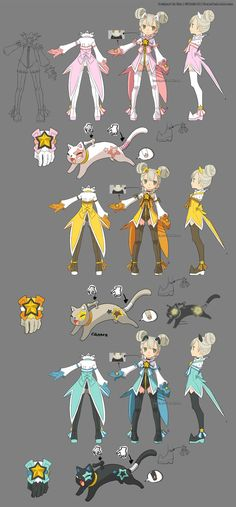 LOVE this persons character designs!! Go check them out and support them!! DragonNest Costume design-Academic2 by ZiyoLing on DeviantArt