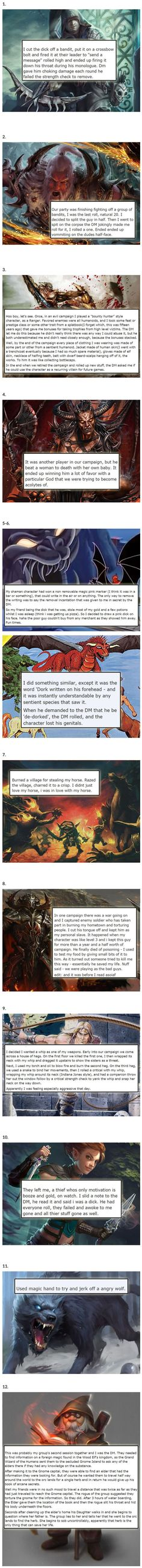 12 D&D Players Admit the Most Twisted Thing They've Done In-Game Tumblr Funny, Funny Memes, Funny Quotes, Jokes, Memes Humor, Cat Memes, Funny Videos, Troll, Dnd Stories