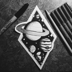 provocative-planet-pics-please.tumblr.com OUTER SPACE #drawing #draw #doodle #illustration #illustrate #space #outerspace #nasa #planets #stars #aliens #ink #pen #art #design by samanthafecher https://www.instagram.com/p/BCp2fHqiO-K/