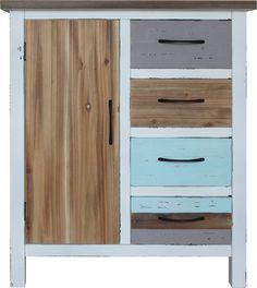 Sit-Möbel 8001-10 cómoda Forest, MDF, acabado antiguo, FSC-Certificado, 60 x 30 x 70 cm, Multicolor: Amazon.es: Hogar
