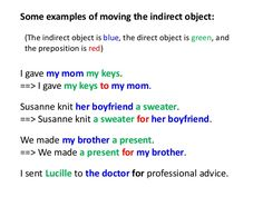 7 best grammar direct object and indirect object images in 2018 objects grammar english. Black Bedroom Furniture Sets. Home Design Ideas
