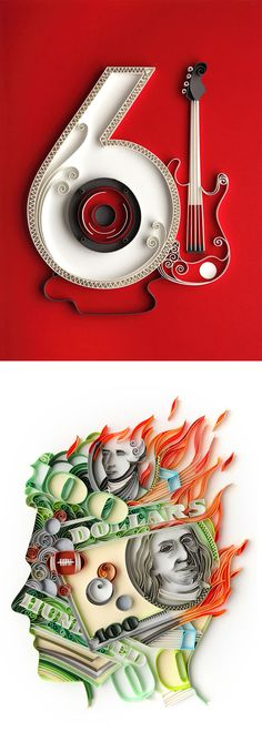 Paper Art by Yulia Brodskaya | Inspiration Grid | Design Inspiration