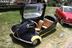 Micro car need a door ? ..ideas there for 1 door only, and get in easy