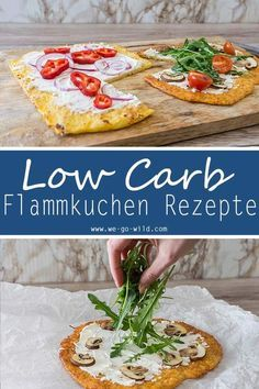 Low Carb Rezepte Flammkuchen Teig ohne Kohlenhydrate