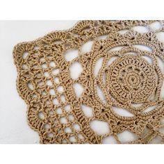 Buen sábado!  ClassicCrochet!! Camino para mesa en color tostado listo para entregar! #crochet #classic #knit #knitstagram #instacrochet #handmade #handcrafted #handmadewithlove #deco #diseño #design #mandala #crochetmandala #home #love by adoreihandmade