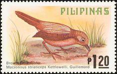 Birds on stamps: Philippines Filippijnen Filipinas