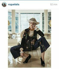 From Vogue Italia Instagram