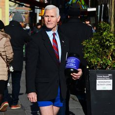 Gay Mike Pence Doppelgänger Raising Money For LGBTQ Causes - http://viralfeels.com/gay-mike-pence-doppelganger-raising-money-for-lgbtq-causes/
