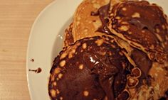 Panqueca de Chocolate com Nutella