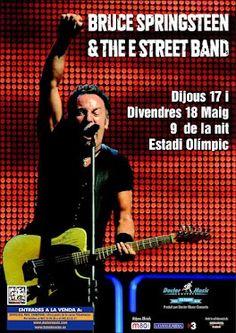 Solo falta un mes para que la gira de Bruce Springsteen llegue a Barcelona