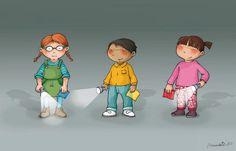 Viure en un conte People Illustrations, Conte, Little People, Illustrators, Character Design, Artsy, Family Guy, Cartoon, Children