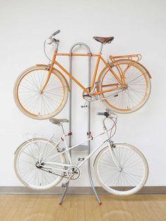 Soporte metálico para bicicletas