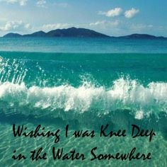 Wishing I was knee beep in the water somewhere - Zac Brown Band Zac Brown Band, Country Girls, Country Music, Country Lyrics, Country Quotes, Ocracoke Island, Jimmy Buffett, Beach Quotes, Song Quotes