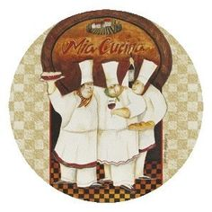 Set of 4 Absorbent Coasters - Tuscan Chefs by Thirstycoasters. $9.99. Large surface area (4.5 inches in diameter) to catch more drips. Cork-backed to protect furniture. Printed and packaged in the USA (no decals). Perfect for the Beach. Description:Set of 4 Absorbent Beverage CoastersCork-backed to protect furnitureLarge surface area (4.5 inches in diameter) to catch more dripsPrinted and packaged in the USA (no decals)