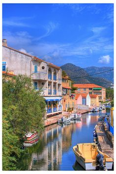 St Florent, a colorful fishing town located in the Gulf of St. Florence in the north of Corsica