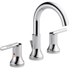 (Need 2 - like these) View the Delta 3559-MPU Trinsic Widespread Bathroom Faucet with Diamond Seal Technology - Includes Metal Pop-Up Drain at FaucetDirect.com.