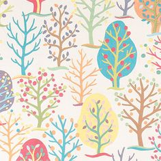"P/Kaufmann Up A Tree Tutti Frutti 56"" Fabric - Sold by the Yard"