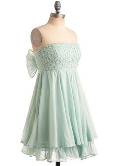 Muddled Mint Dress | Mod Retro Vintage Printed Dresses | ModCloth.com - StyleSays