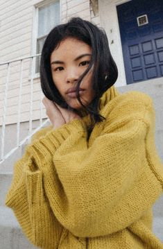 Solid And Striped, Mohair Sweater, Sweater Fashion, Stay Warm, Knitwear, Stylists, Turtle Neck, Feminine, Cozy